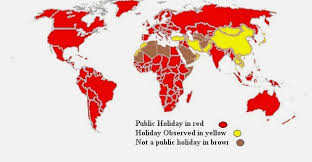 how many countries celebrate lizardmedia co