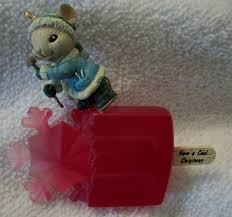Christmas Mice Decorations 110 Best Enesco Ornaments Images On Pinterest Christmas