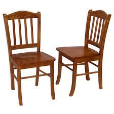Shaker Dining Chair Shaker Dining Chair Wood Oak Set Of 2 Boraam Target