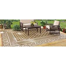 Outdoor Patio Rugs 9 X 12 Guide Gear Reversible 9 X 12 Outdoor Rug Scroll