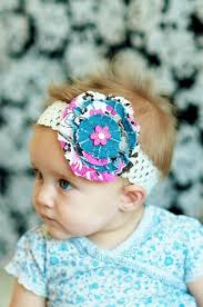 baby hair bows baby hair bow levi fabric hair bow big girl hairbow and