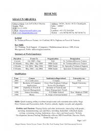 resume format for engineering students for tcs foods best resume formats 47free sles exles format free professio
