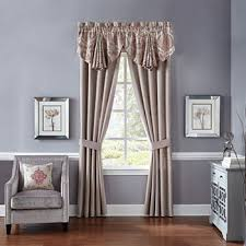 How To Hang Curtains On A Round Top Window Window Treatments On Sale Drapery Sale Jcpenney