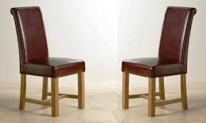 Custom Upholstered Dining Chairs Leather Dining Chairs U2013 Modern Upholstered Oak Or Chrome Sets