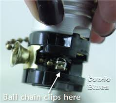 pull string light fixture repair how to replace a pull chain light fixture with switch www