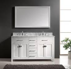 Abbey 60 Inch Vanity Buy Abbey 60 Inch Double Bathroom Vanity Crema Marfil White