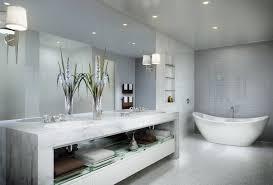 Modern Classic Bathroom by Modern Bathroom Wall Lighting Design Orchidlagoon Com