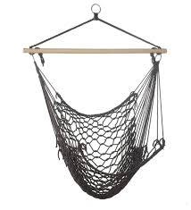 hammock chair espresso contemporary hammocks and swing chairs