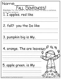 28 best fix sentences kindergarten images on pinterest writing