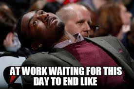 This Is The End Meme Generator - meme maker at work waiting for this day to end like