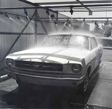 ford mustang assembly plant tour images emerge from closed california mustang plant stangtv