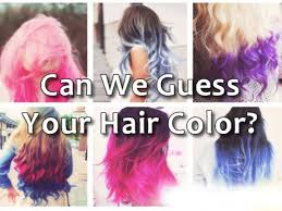 guess hair color playbuzz