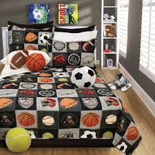 Amazon Bedding Amazon Com Boys Bedding Reversible Quilt And Pillow Sham Set