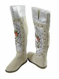 womens boots burning womens boots burning skeleton with rhinestone ed hardy