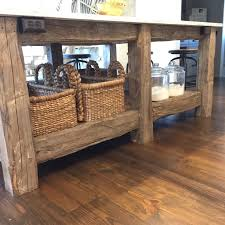 Barnwood Kitchen Island by Exactly What I Have In Mind For My House Using The Old Beams That