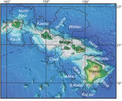 Molokai Map The Importance Of Geologists And Geology In Tsunami Science And