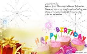 birthday quotes for brother with name birth day wishes for