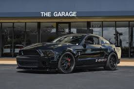 2012 shelby mustang 2012 used ford mustang shelby 1000 at the garage inc serving