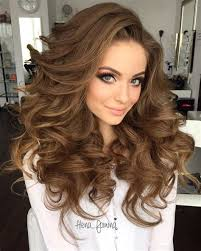hair cuts to increase curl and volume long curly hairstyle with