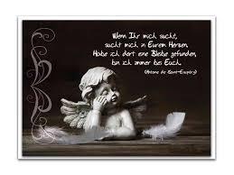sprüche für trauerkarte trauerkarte engel antoine de exupéry 14 8 x 10 5 cm