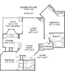 Ellington Floor Plan 1802 1010 Burnaby Street Sebastian Albrecht U0026 Duncan Brown