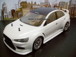 mitsubishi lancer evolution x redcat racing gas rtr custom painted