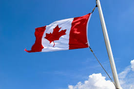 file canadian flag at sea jpg wikimedia commons
