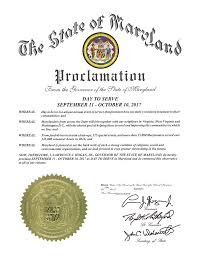 thanksgiving day proclamation maryland day to serve