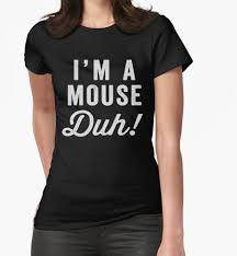 halloween shirts i u0027m a mouse duh white ink mean girls quote shirt mean girls