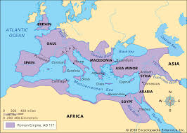 Roman World Map by Land Ancient Rome Libguides At Ursula Frayne Catholic College