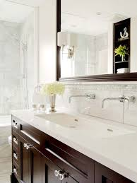 spectacular double trough sink bathroom vanity also interior