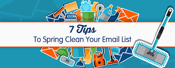 spring clean 7 tips to spring clean your email list pinpointe marketing blog