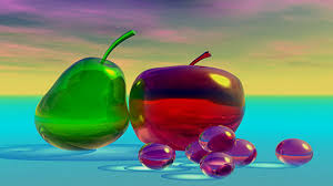 photo collection wallpapers glass fruits desktop