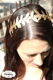 goddess headband do it your freaking self diy gold headband do it your