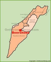 sheva israel map beersheba maps israel maps of beersheba be er sheva