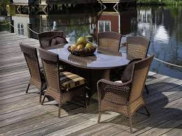 outdoor wicker patio dining sets u2014 new home design wicker dining