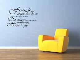amazon com friends are angels friends friendship vinyl wall decal
