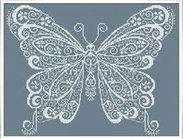butterfly cross stitch pattern alessandra adelaide cross