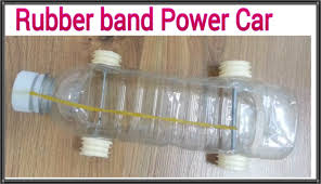 how to make a homemade plastic bottle car by a rubber band youtube