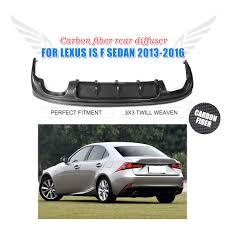 lexus rear bumper carbon rear diffuser lip for lexus is250 is350 f sport isf bumper