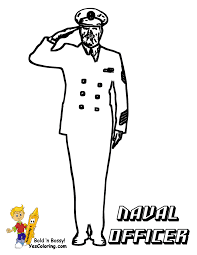 navy officer coloring pages coloring home