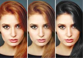 how to change hair color in photoshop slr lounge