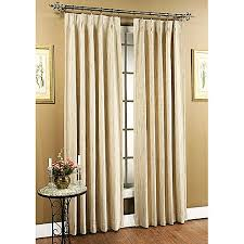 Pinch Pleat Drapery Panels Tucson Pinch Pleated Drapery Panels Natural Set Of 2 Walmart Com