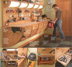 Work Bench Design 35 Diy Garage Storage Ideas To Help You Reinvent Your Garage On A