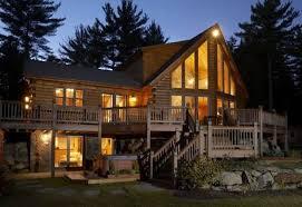 Nh Lakes Region Log Homes by New Hampshire Vacation Rentals