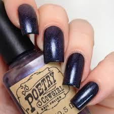 cdbnails poetry cowgirl nail polish spooky spirits trio u0026 1