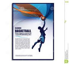 basketball illustration player sport concept poster flyer