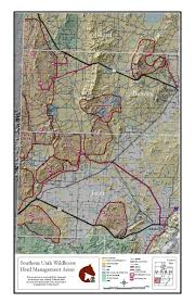 Utah Parcel Map by Programs Wild Horse And Burro Herd Management Herd Management