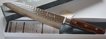 japanese kitchen knife santoku damascus vg10 180mm