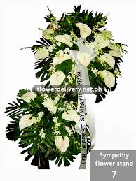 flower for funeral sympathy flower stand 7 flower delivery in metro manila